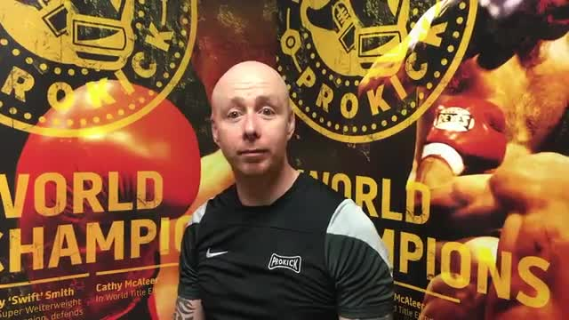Mark Cairnduff will have first fight at ProKick Idols‬