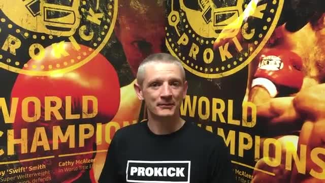 Craig Coates set for first fight at ProKick Idols‬