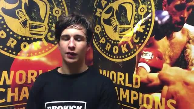 Killian Emery back in Belfast on ProKick Idols