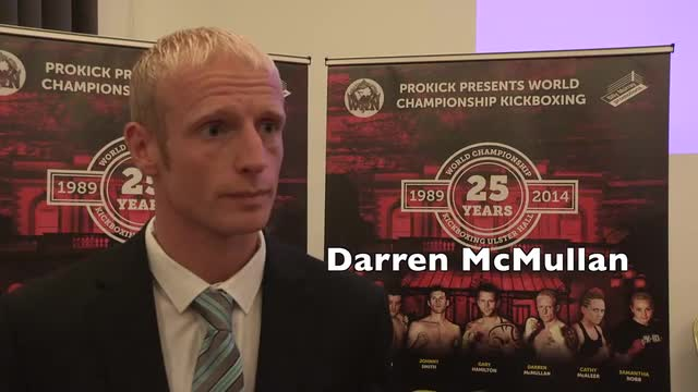 Darren McMullan with Gary Gillespie about Lords  of the Ring