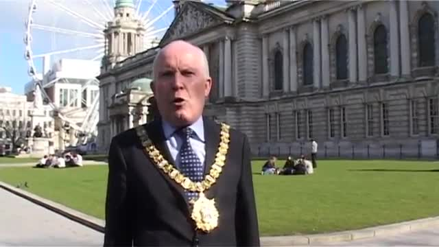 Belfast Lord Mayor Backs -The Peace Fighters-2005.mov