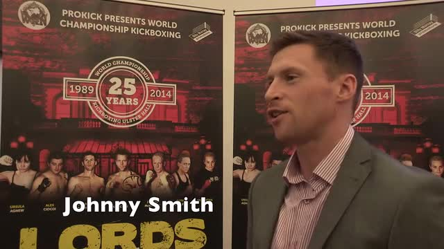 Johnny Smith speaks with Gary Gillespie about the Lords of the Ring 2014 - Video
