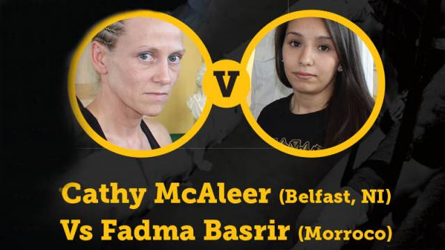 Cathy McAleer Vs Fadma Basrir Belfast 2014