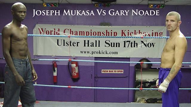 Gary Noade WKN World Title Belfast Nov 17th 2002