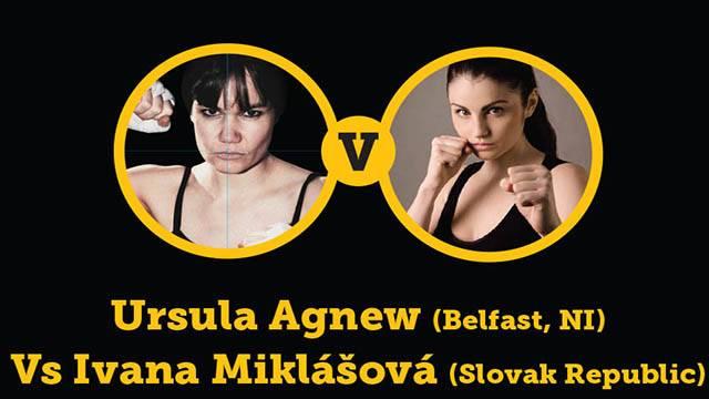 Ursula Agnew Vs Ivana Miklasova in Belfast 2014
