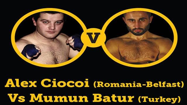 Alex Ciocoi Vs Mumun Batur World WKN Title 2014