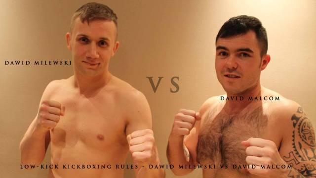Low-kick kickboxing Rules - David Malcom Vs Dawid Milewski