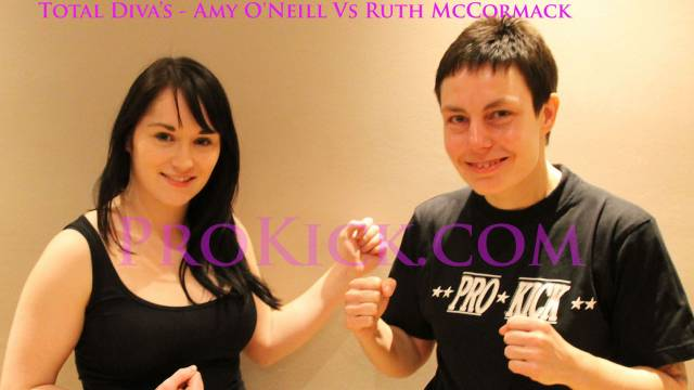 Female Kickboxing with Ruth McCormack Vs Amy O'Neill