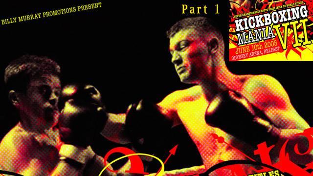 Kickboxing Mania VII Belfast Program1