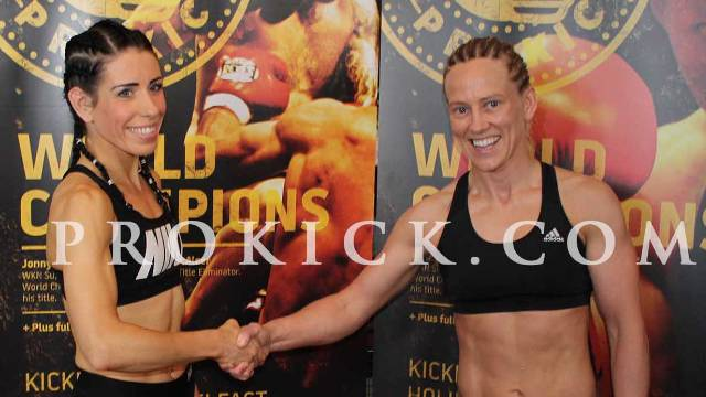Made In ProKick - Main Event Weigh-ins