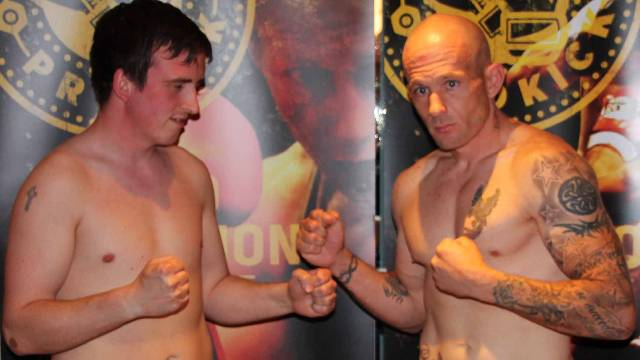 Chris Phillips Vs Laurent Navarro in Belfast