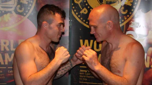 David Malcolm Vs Gerry King Kickboxing in Belfast