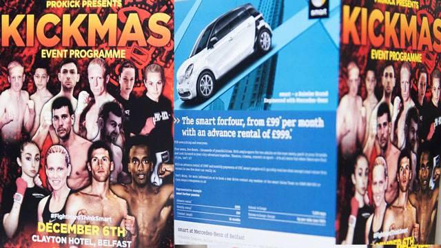 KICKmas 2015 in Belfast DVD