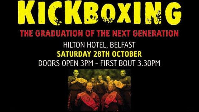 Kickboxing Graduation at the Hilton Belfast 2006