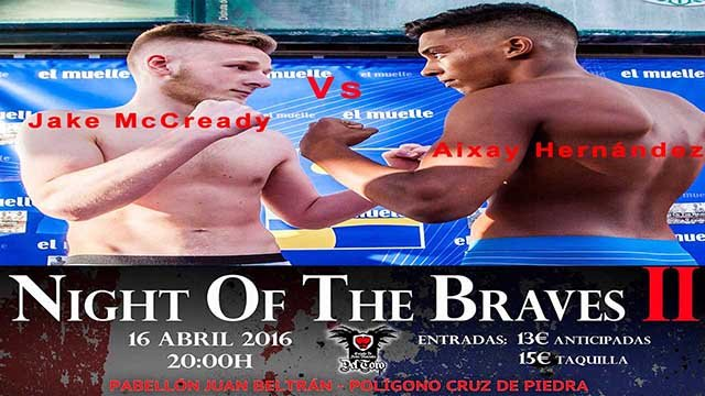 Aixay Mernandez Vs Jake McCready kickboxing