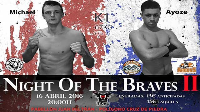 Michael Swann Vs Ayoze Rodriguez kickboxing K1 style