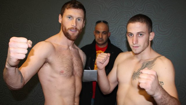 Johnny Smith Vs Periklis Filippou in Belfast