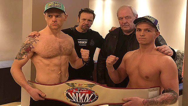 Matthew Kerr Vs Shane Weir for a WKN Celtic Nations Title