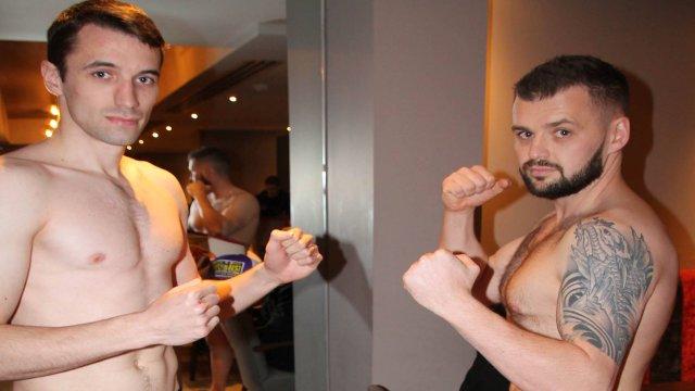 Martin Carson Vs David McCormack Kickboxing
