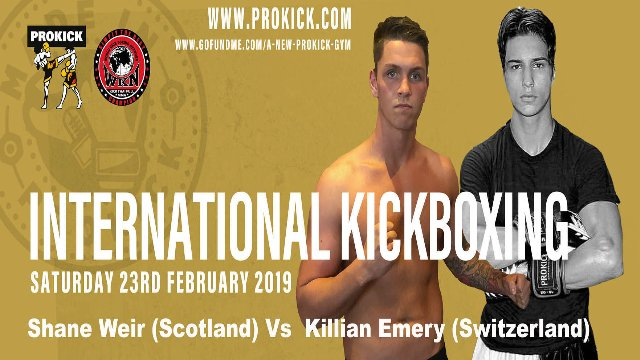 Killian Emery Vs Shane Weir in Belfast