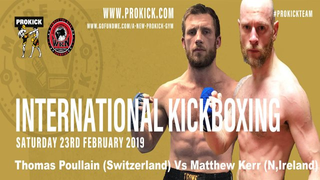 Matthew Kerr Vs Thomas Poullain in Belfast