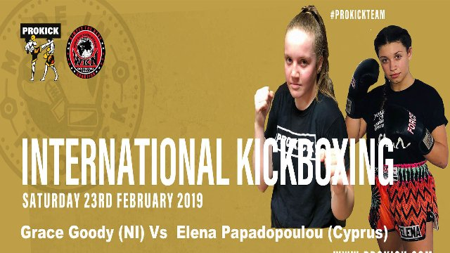 Grace Goody Vs Elena Papadopoulou in Belfast