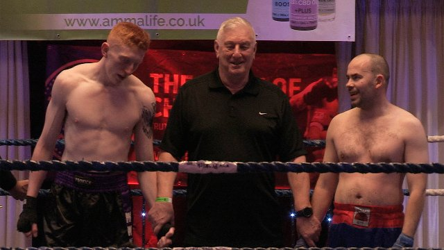 Cameron Scott Vs Konrad Baranski in Belfast