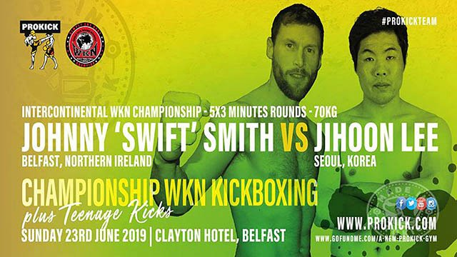 Johnny Swift Smith Vs Jihoon Lee in Belfast