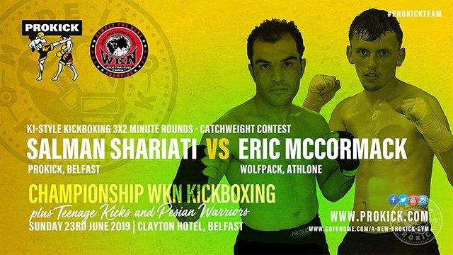 Salman Shariati Vs Eric McCormack in Belfast