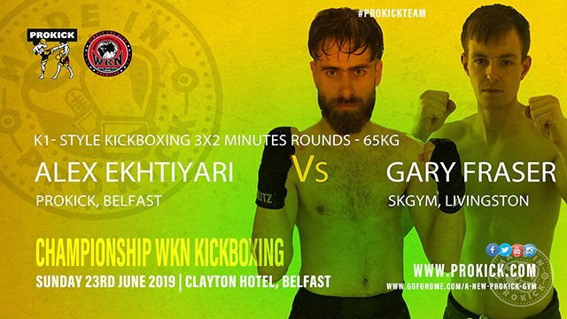 Alex Ekhtiyari Vs Gary Fraser in Belfast