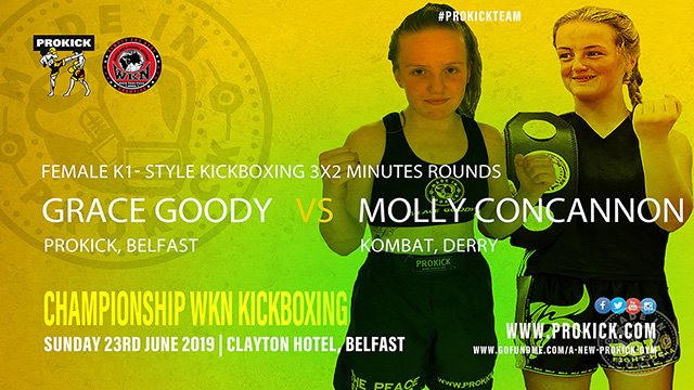 Grace Goody Vs Molly Concannon in Kickboxing
