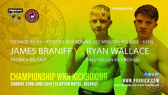 James Braniff Vs Ryan Wallace in kickboxing