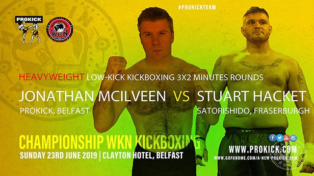 McIIveen Vs Hacket - kickboxing in Belfast