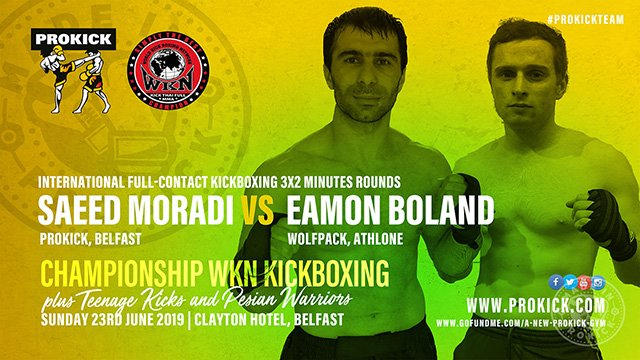 Saeed Moradi Vs Eamon Boland Full-Contact kickboxing