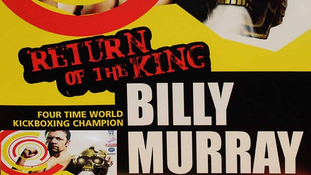 Billy Murray in a Documentary Movie 'Kings of Kickboxing'