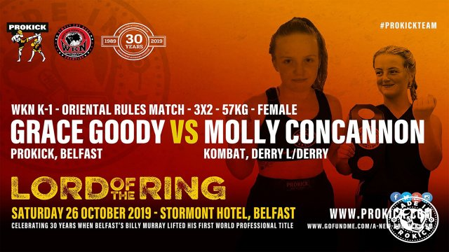 Grace Goody Vs Molly Concannon in Belfast