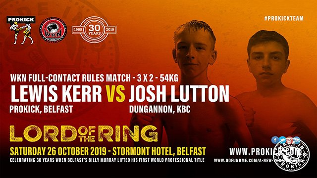 Lewis Kerr Vs Josh Lutton kickboxing