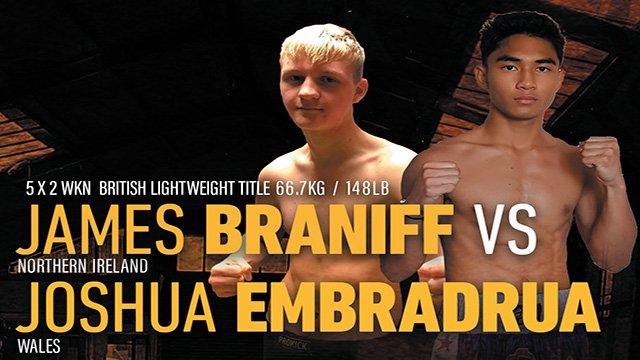Braniff Vs Embradrua at FightClub Belfast