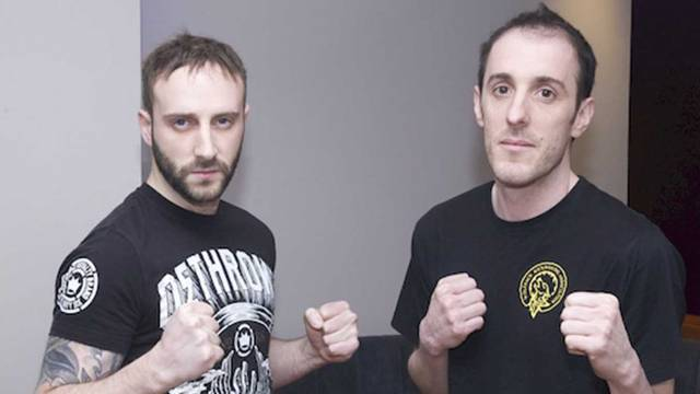 Gareth Anderson Vs  Shane Harney  in Full-Contact kickboxing