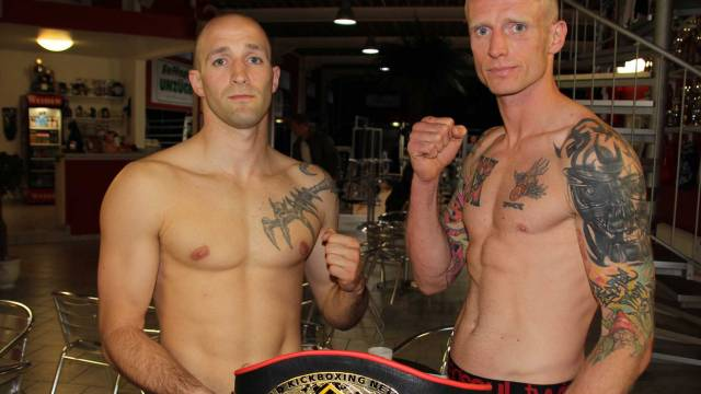Darren McMullen Faced  David Wachs for the WKN K1-Style European title