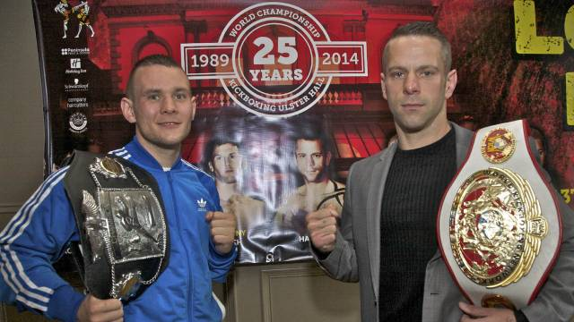Gary Hamilton will face Sam Allan for a WKN world title in Belfast
