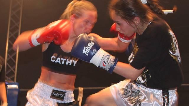 Cathy McAleer Vs Fadma Basrir in WKN world title