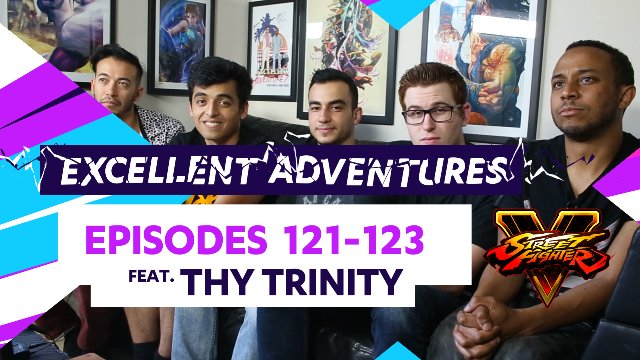 Excellent Adventures - Episodes #121-123 feat. Thy Trinity
