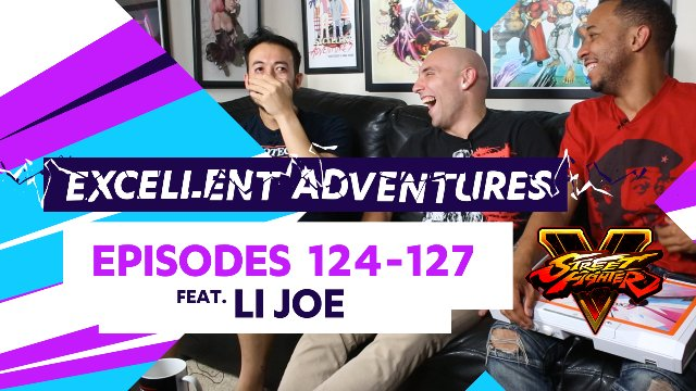 Excellent Adventures - Episodes #124-127 feat. LI Joe