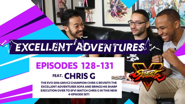 Excellent Adventures - Episodes #128-131 feat. Chris G