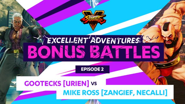 Bonus Battle: Gootecks (Urien) vs. Mike Ross (Zangief, Necalli)