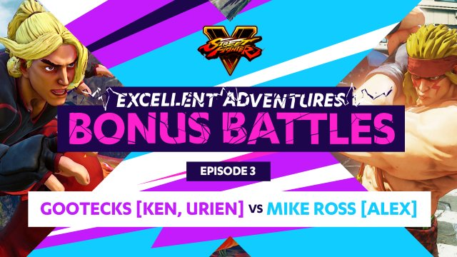 Holiday Bonus Battle: Gootecks (Ken, Urien) vs. Mike Ross (Alex)