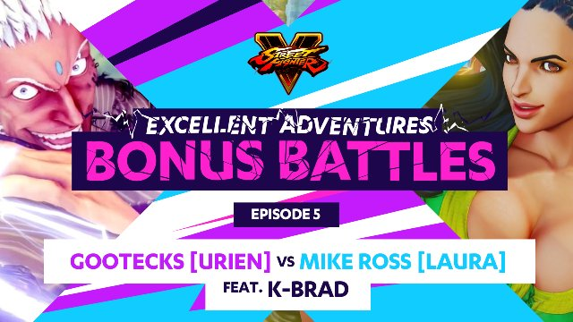 Bonus Battle: Gootecks (Urien) vs. Mike Ross (Laura) ft. K-Brad