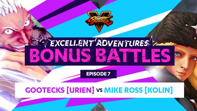 Bonus Battle: Gootecks (Urien) vs. Mike Ross (Kolin)