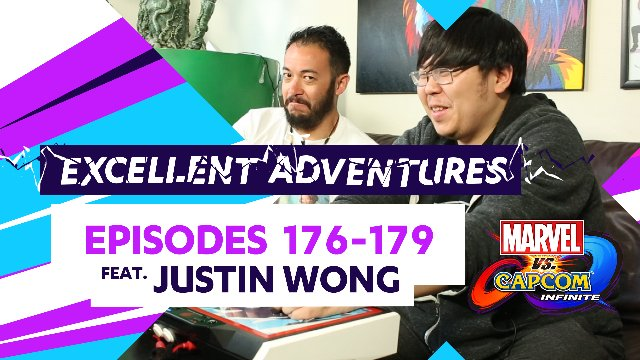 Excellent Adventures MVC: INFINITE SPECIAL! #176-179 ft. Justin Wong